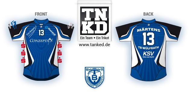 TB Wülfrath (Handball) - Jersey Home  von TANKED