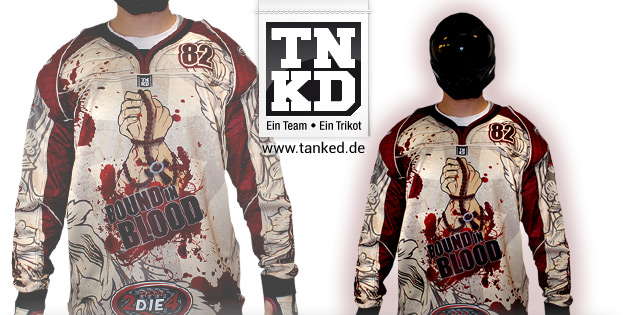 Bound in Blood (Paintball) - Jersey Home  von TANKED