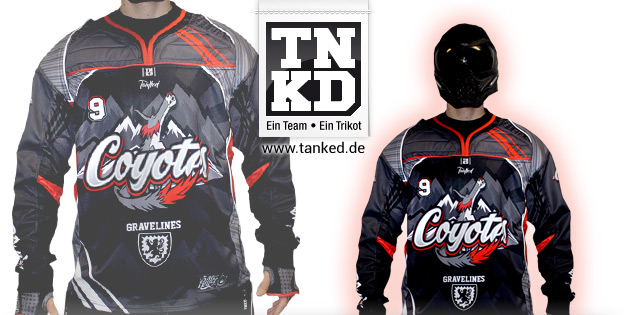 Coyotes (Paintball) - Jersey Home  von TANKED