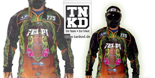 FeiPei (Paintball) - Jersey Home  von TANKED