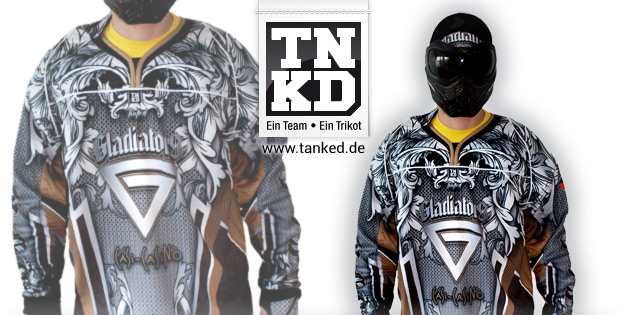 Gladiators (Paintball) - Jersey Home  von TANKED