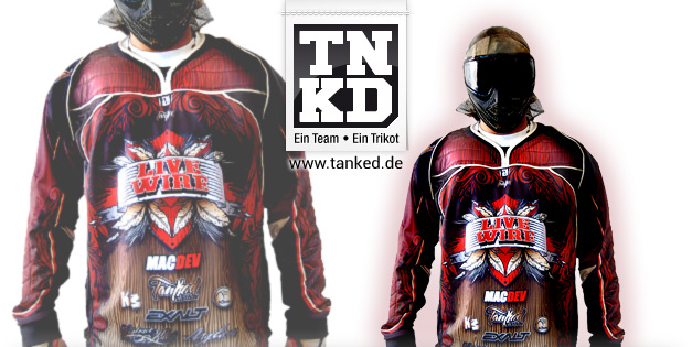 Live Wire (Paintball) - Jersey Home  von TANKED
