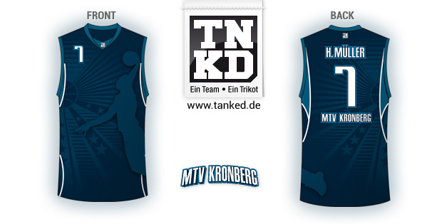 Mtv Kronberg (Basketball) - Jersey Home  von TANKED