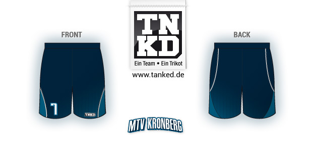 Mtv Kronberg (Basketball) - Shorts Home  von TANKED