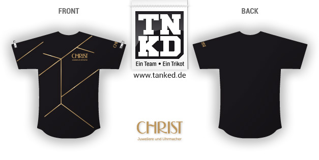 Christ (Running) - Jersey Home  par TANKED