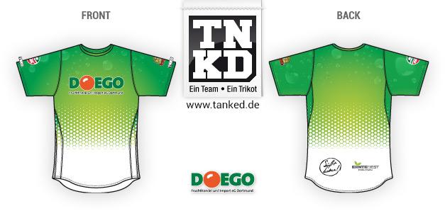 DOEGO (Running) - Jersey Home  par TANKED