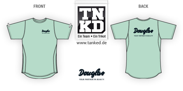 Douglas (Running) - Jersey Home  von TANKED