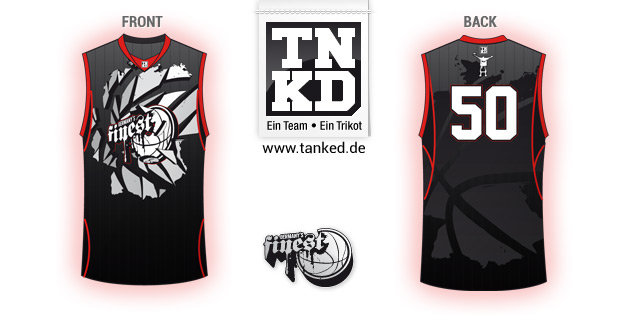 Germanys Finest (Basketball) - Jersey Home  von TANKED