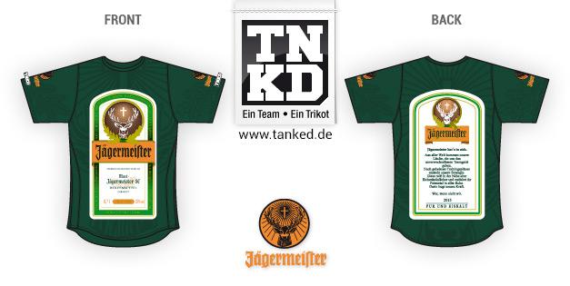 Jägermeister (Running) - Jersey Home  von TANKED