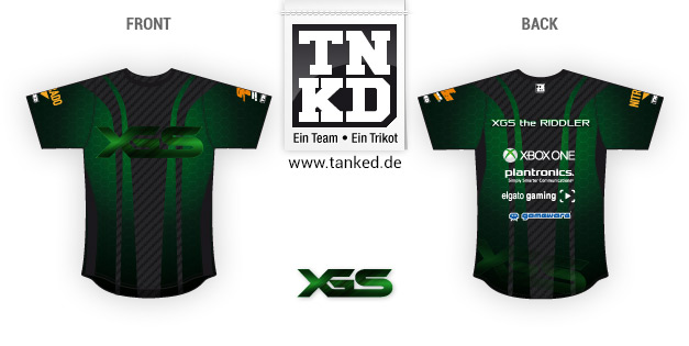 xgs (eSports) - Jersey Home  par TANKED
