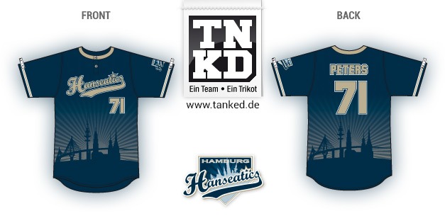 Hanseatics (Softball) - Jersey Home  von TANKED