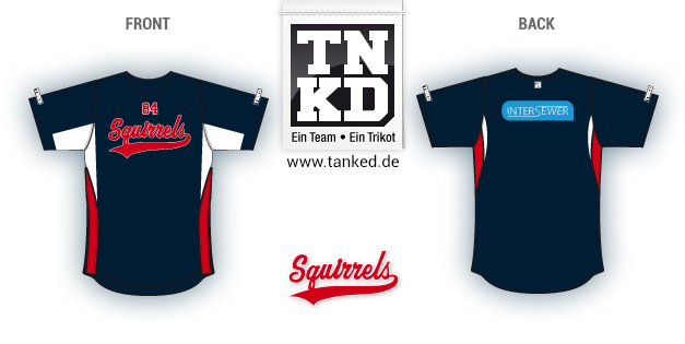 Squirrels (Softball) - Jersey Home  von TANKED