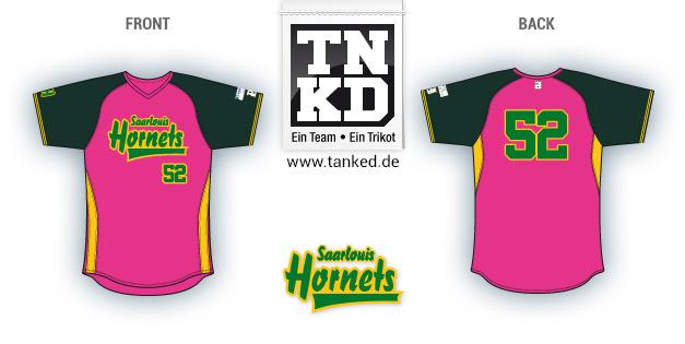 Saarlouis Hornets (Softball) - Jersey Home  von TANKED