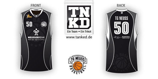 Tg Neusss (Basket-ball) - Jersey Home  par TANKED