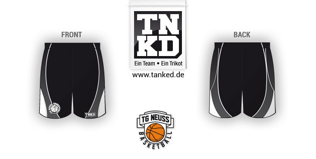 Tg Neusss (Basket-ball) - Shorts Home  par TANKED
