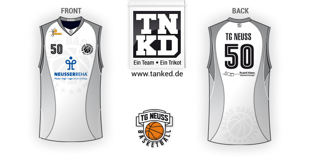 Tg Neusss (Basketball) - Jersey Away  von TANKED