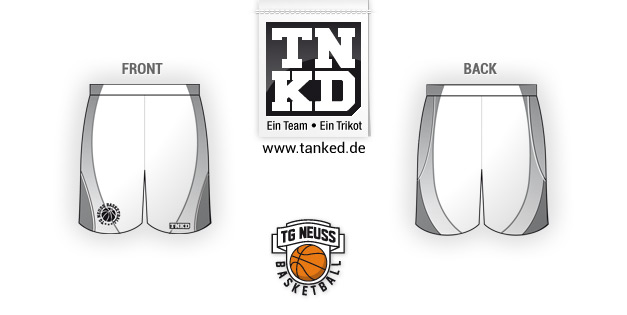 Tg Neusss (Basketball) - Shorts Away  von TANKED
