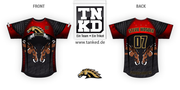 Stallions (eSports) - Jersey Pop-Up  von TANKED