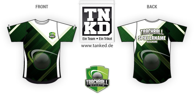 Trackball (eSports) - Jersey Pop-Up  von TANKED