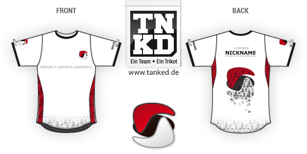 Project Gaming Germany (eSports) - Jersey Pop-Up  von TANKED