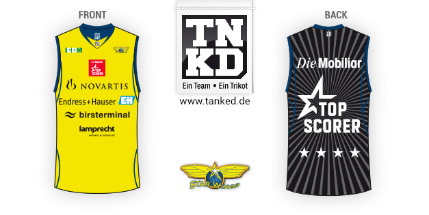 Starwings (Basketball) - Jersey Pop-Up  von TANKED