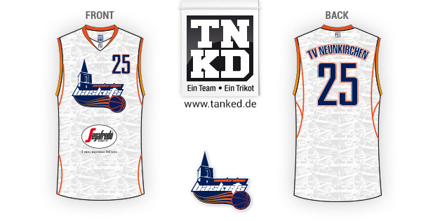 TV Neunkirchen (Basketball) - Jersey Pop-Up  von TANKED