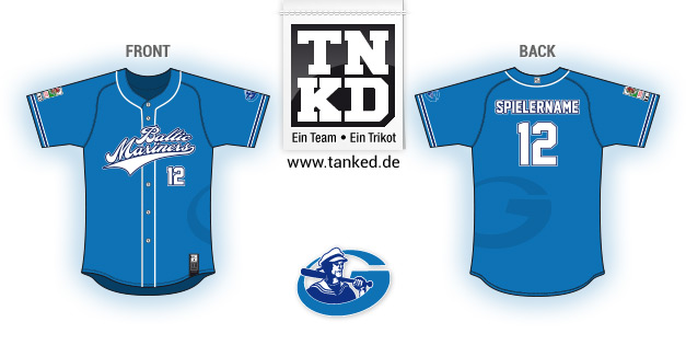 Baltic Mariners (Baseball) - Jersey Pop-Up  von TANKED