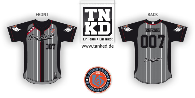 KJG Forchheim (Baseball) - Jersey Pop-Up  von TANKED
