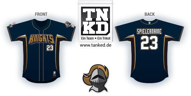 Marburg Knights (Baseball) - Marburg Knights Pop-Up  von TANKED