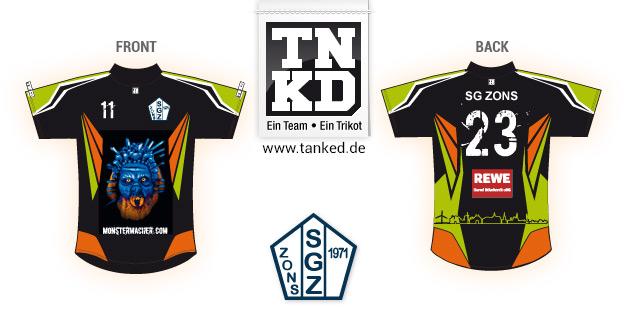 SG Zons (Handball) - Jersey Pop-Up  von TANKED