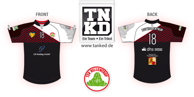 TSV Hillentrupp (Handball) - Jersey Pop-Up  von TANKED