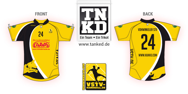 Vohwinkeler STV (Handball) - Jersey Pop-Up  von TANKED