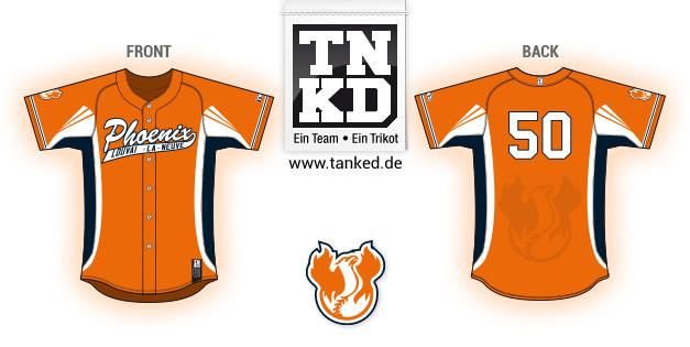 LLN Phoenix (Baseball) - Jersey Pop-Up  von TANKED